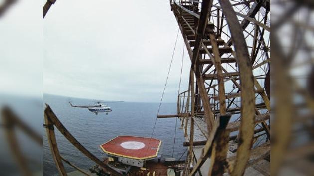 Putin lanzó la extracción de la plataforma petrolera Yuri Korchagin