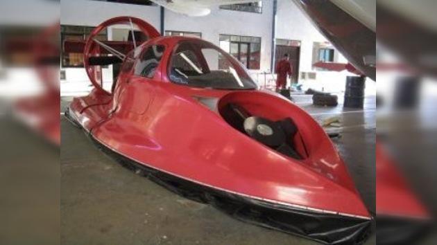 El estreno más exótico de los vehículos deportivos acuáticos
