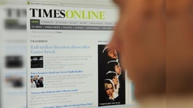 La página web de The Times ya es de pago
