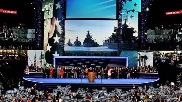 Buques rusos 'se cuelan' en un video patriótico de la Marina de EE.UU.