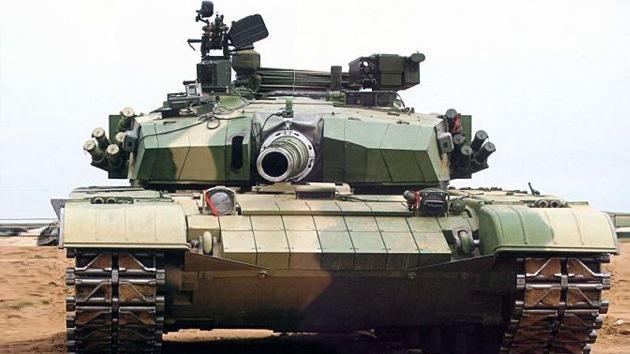 China presenta su nuevo tanque, una amenaza al blindaje occidental