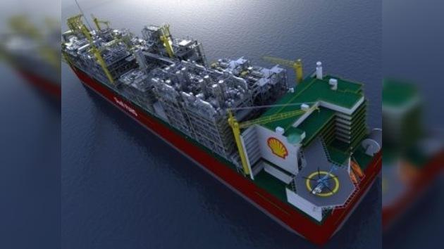 Shell construirá una planta flotante para licuar gas del bajío de Australia