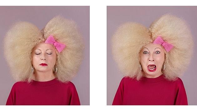 """Video: Impactantes cambios de 'look' para olvidar el cáncer """"aunque sea un segundo"""""""