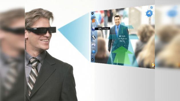 Internet, mensajes y videojuegos dentro de las gafas