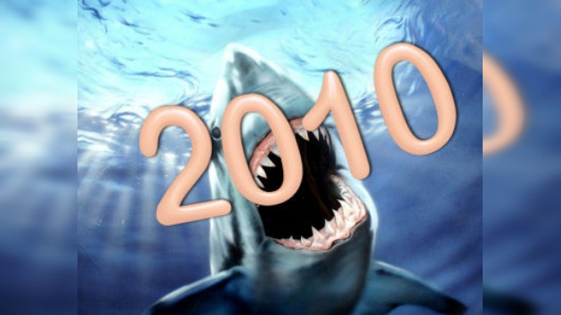 2010: el año de los ataques de tiburones