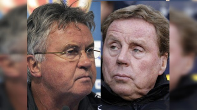 Redknapp y Hiddink, principales candidatos para reemplazar a Capello