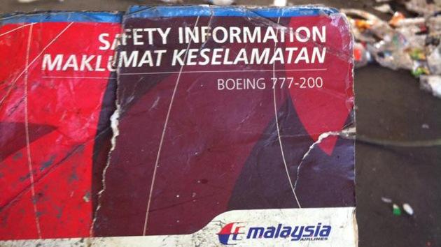 Encuentran en Australia las instrucciones de un Boeing 777 de Malaysia Airlines
