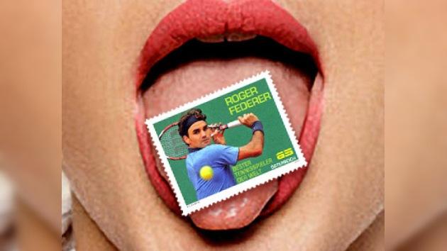 Se podrá enviar a Federer por correo por 65 centavos