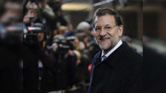 Rajoy: En España el desempleo seguirá su tendencia negativa en 2012