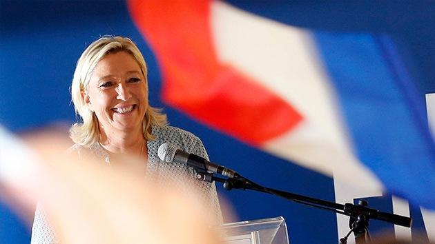 """Marine Le Pen: """"La globalización es una barbaridad"""""""