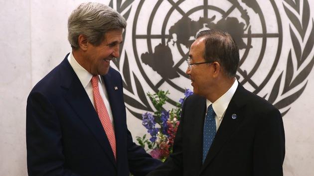 "¿Lapsus o reconocimiento? John Kerry se refiere a Palestina como ""país"""