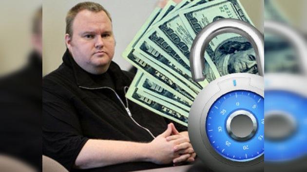 El fundador de Megaupload dispondrá de 50.000 dólares mensuales