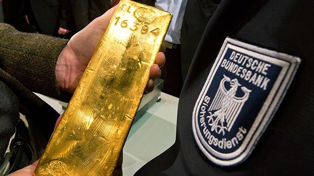 La Reserva Federal de EE.UU. se niega a devolver el oro alemán antes de 2020