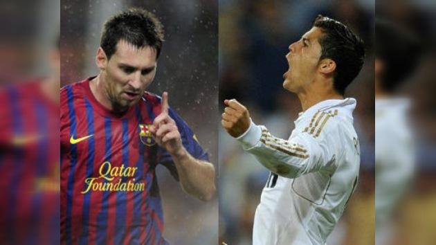 Triplete de Messi y Ronaldo en las goleadas de sus respectivos equipos en la Liga española