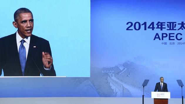 """Obama promueve un acuerdo comercial en China """"en beneficio de las corporaciones"""""""