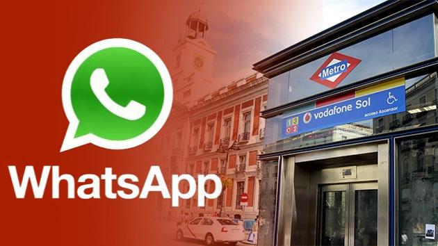 Pánico en el metro madrileño por un falso aviso de bomba difundido por WhatsApp