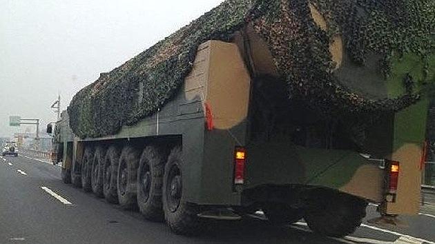 El Pentágono confirma que China desarrolla un nuevo misil de largo alcance