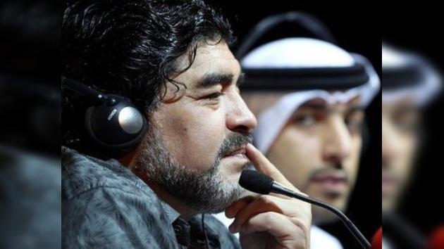 Maradona amenaza con dejar el Al Wasl si no invierten más dinero en el equipo