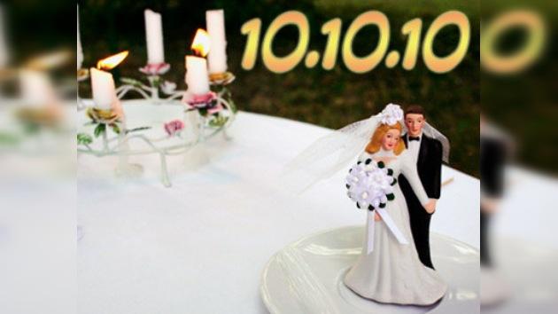 10/10/2010: ¿Una buena fecha para casarse?