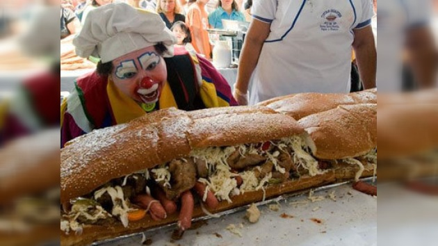 Los mexicanos hicieron el sándwich más grande del mundo