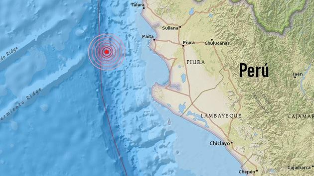 Perú: Un terremoto de 6,2 sacude el norte del país
