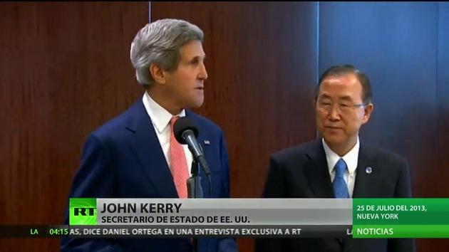 """La oposición siria pide a John Kerry ayuda militar """"lo antes posible"""""""