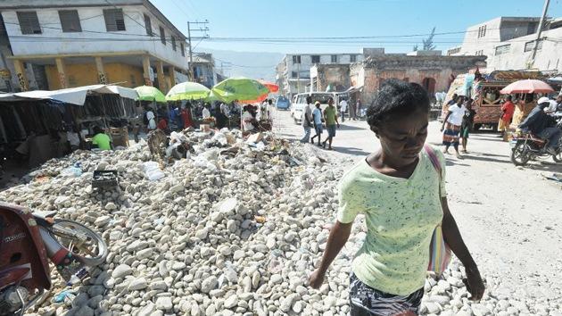 Tres años después del sismo, 358.000 haitianos siguen en campamentos