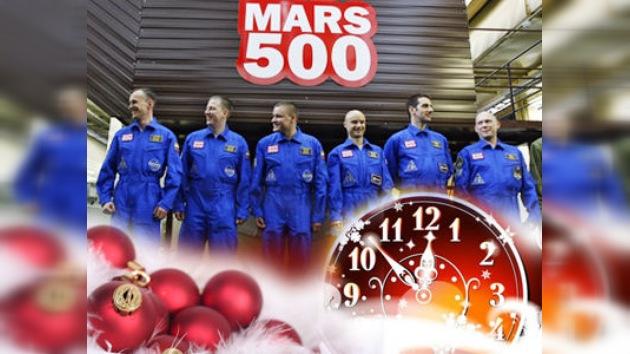 Incluso en una misión marciana las tradiciones festivas son obligatorias