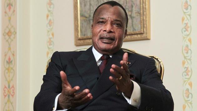 """Presidente del Congo: """"África necesita a Rusia"""""""