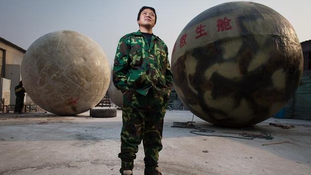 Video, fotos: Superesferas chinas pretenden salvar a la humanidad del Armagedón