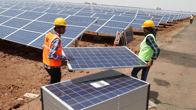 Energía solar, el nuevo megaproyecto social de la India