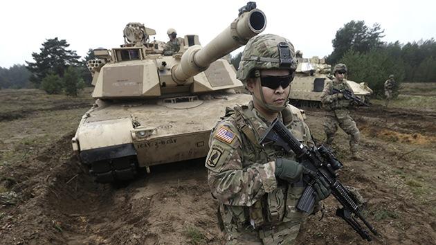 """EE.UU. despliega tanques en Letonia: """"no es un mero viaje al otro lado del Atlántico"""""""