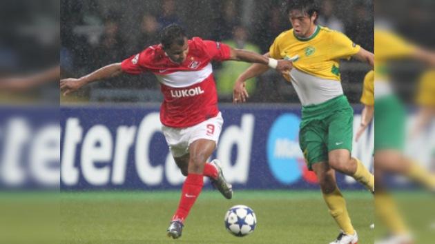 """Spartak golea a Žilina """"a ritmo de samba"""" y rompe maleficio en la Champions"""