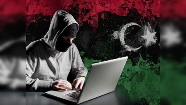 """""""Adiós Gaddafi"""", nuevo mensaje de la página del dominio oficial libio"""
