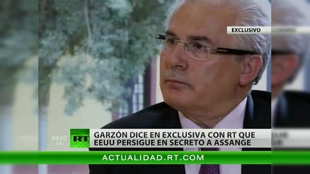 """Baltazar Garzón a RT: """"No hay ninguna causa para perseguir a Assange"""""""