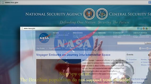 Por una letra: 'Hackers' atacan la NASA en lugar de la NSA