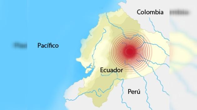 7,1 grados de Riechter sacudieron Ecuador
