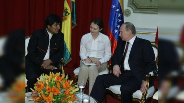 Evo Morales pide un crédito a Rusia para luchar contra el narcotráfico