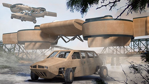 Fotos: 'Transformers' voladores se unirán a las filas del ejército de EE.UU.