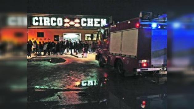 Más de 30 personas heridas tras derrumbe de una tribuna de circo portugués
