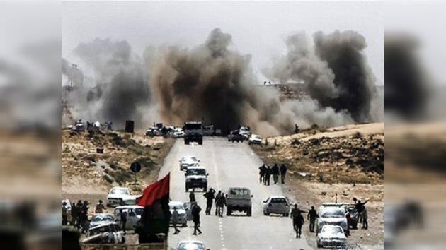 EE. UU. podría estar utilizando material radiactivo en Libia