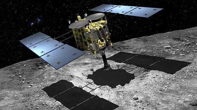 Japón prueba un cañón espacial para extraer muestras del interior de asteroides