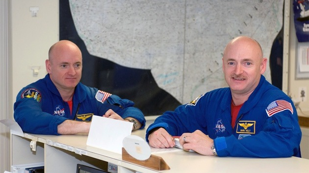 La NASA realizará un experimento sin precedentes con dos gemelos