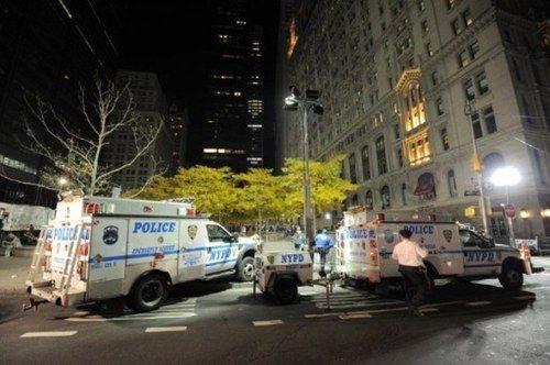 El desalojo forzoso de los activistas de Ocupa Wall Street del parque Zuccotti