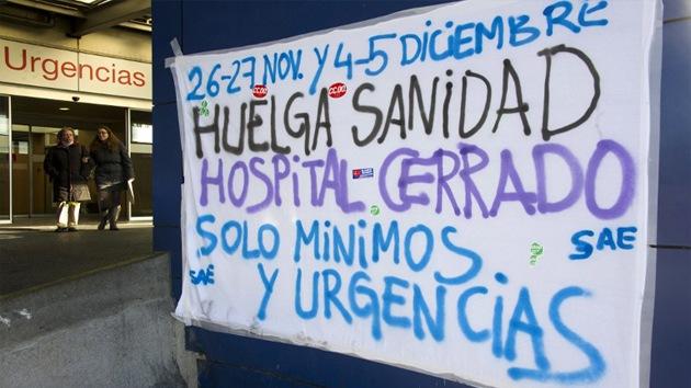 Suspendidas en Madrid miles de operaciones por la huelga médica
