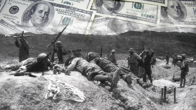 La falta de guerras a gran escala estaría afectando la economía de Occidente