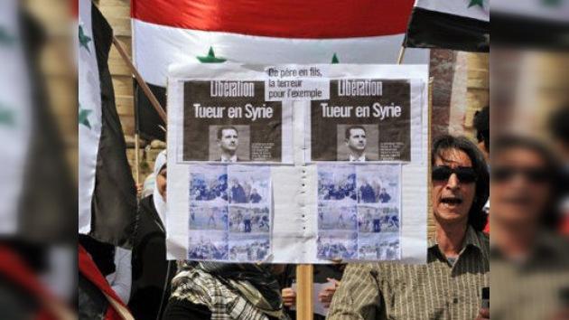 Los medios también intervienen en el conflicto sirio