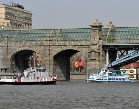 Abierta le temporada de navegación fluvial en Moscú