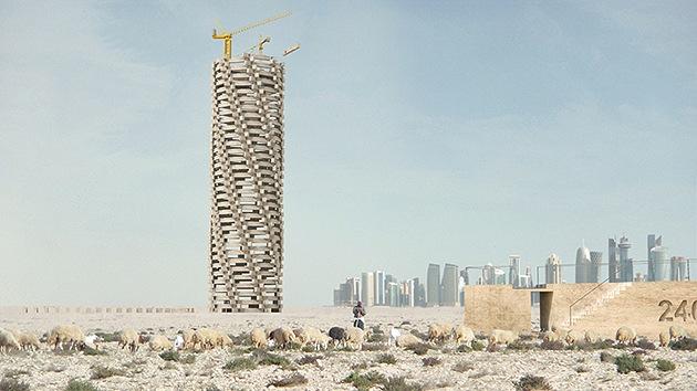 Fotos: la 'Torre de la Muerte' del Mundial de Catar 2022