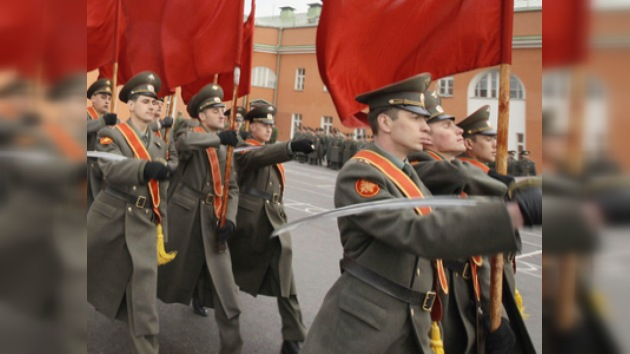 Moscú se prepara para el desfile militar del Día de la Victoria